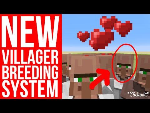 SIMPLE NEW VILLAGER BREEDING SYSTEM! - Minecraft