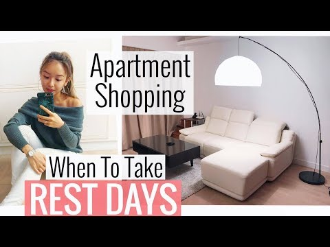 Apartment Shopping! 💕 |  What I Eat In A Rest Day | ROMWE Autumn Haul
