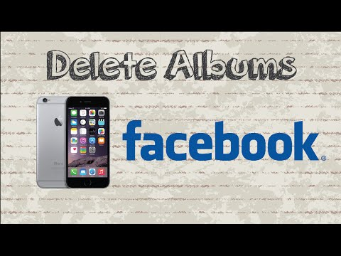 How to delete Albums on Facebook | Mobile App (Android & Iphone)