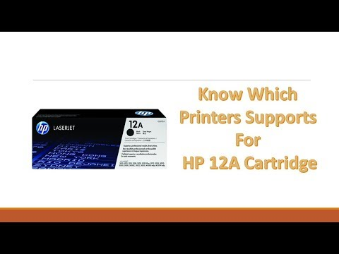 Which Printers are compatible with HP 12A Cartridge