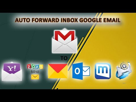 How To Auto Forward Google Email To Another Email