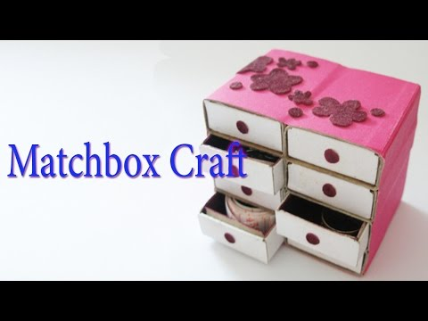 Hand Made Matchbox Craft | Best From Waste Material | Hand Creativity Art | Easy Step to Follow