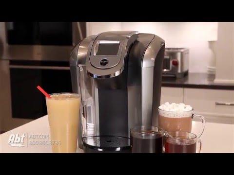 Keurig K475 Black Hot Brewer Coffee Maker 119297 - Overview