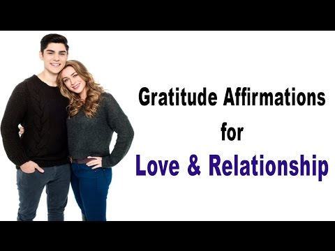 Gratitude Affirmations for Love & Relationship (Female Voice)