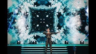 Hanna Ferm sjunger Treading water i Idol 2017 - Idol Sverige (TV4)