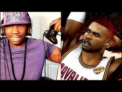 NBA 2k13 MyCAREER Playoffs - FaceCam No Headband Like LeBron James - NBA Finals Gm 6