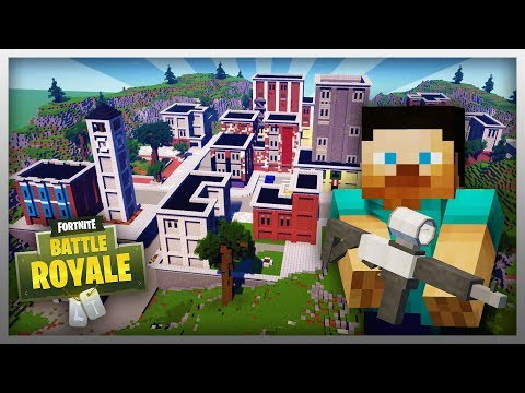✔️ FORTNITE TILTED TOWERS IN MINECRAFT! (Download Map)