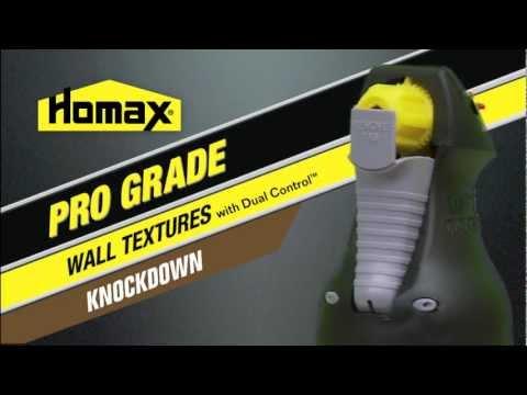 Homax® Pro Grade Knockdown Wall Texture