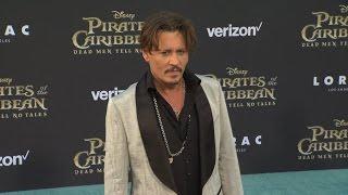 Pirates of the Caribbean 5 US Premiere - Johnny Depp, Kaya Scodelario, Orlando Bloom, Javier Bardem
