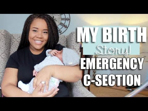 My ALMOST Natural Birth Story | Castor Oil Induction