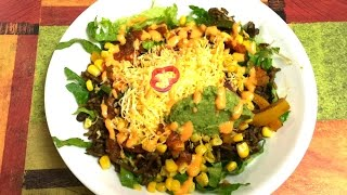 Chipotle Burrito Bowl Video Recipe | Mexican Salad - My Quick Version for Baseball Game Day