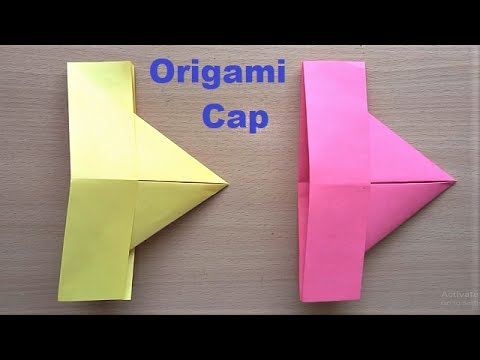 Amazing Origami Paper Hat Making | How to make Paper Cap at Home