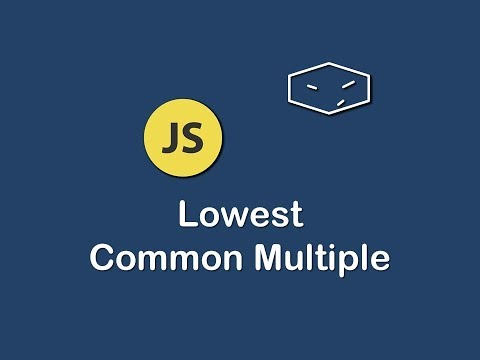 lowest common multiple in javascript