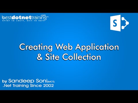 Part 3 - Creating Web Application - SharePoint 2013 Tutorial