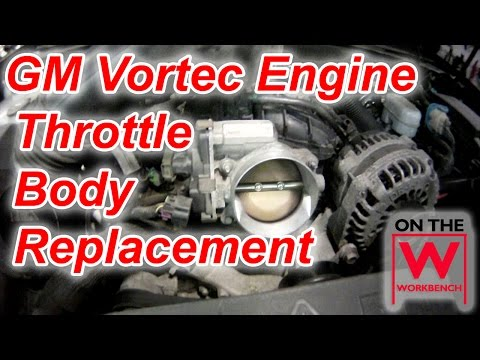 5.3L GM Vortec Engine Throttle Body Replacement  - P0121 Error