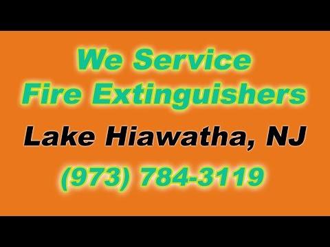 Fire Extinguisher Service Lake Hiawatha NJ