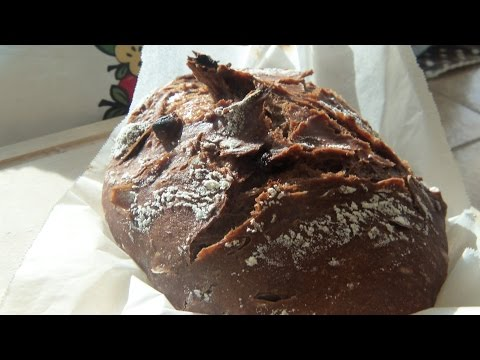 How to Make No-Knead Chocolate Artisan Bread
