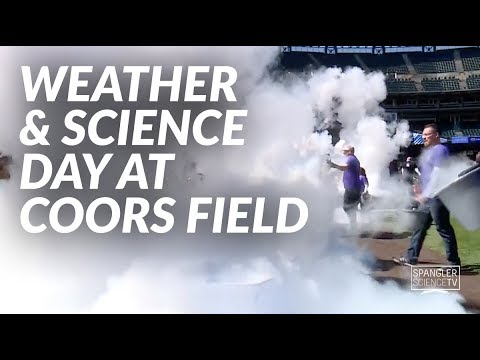 Weather and Science Day at Coors Field with Steve Spangler