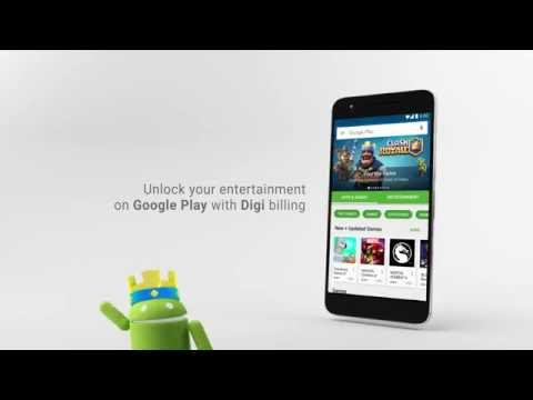 Enable Digi billing on Google Play and unlock your entertainment