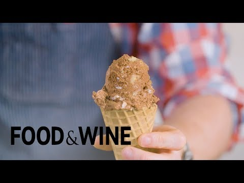 Rocky Road Ice Cream Without an Ice Cream Maker | Mad Genius Tips | Food & Wine