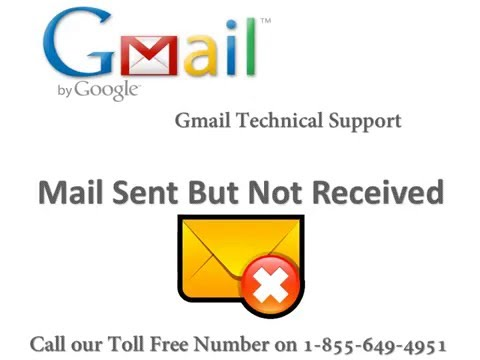 Email Sent but Not Received Call Toll Free 1-855-649-4951