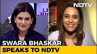Actor Swara Bhasker On