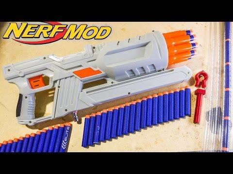 How to Mod an Air Max 10 & Make PETG Nerf Barrels