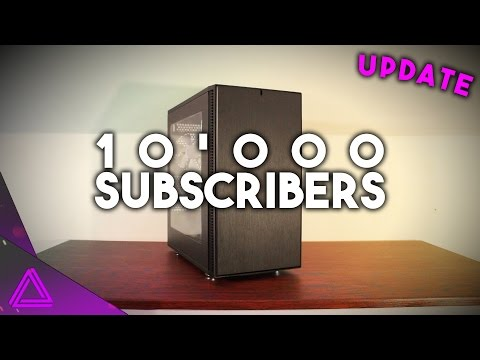 10'000 SUBSCRIBERS!! ~ GTX 1070 Upgrade, Where Have I Been, Win A GPU! ~ Update Video