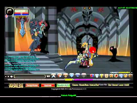 AqWorlds - How to go to Nulgath Shop