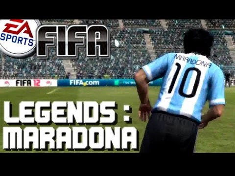 Fifa 12 - Diego Maradona - Virtual Pro Football Legends