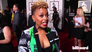 Download Chrisette Michele on the GRAMMYs Red Carpet 2014 Video
