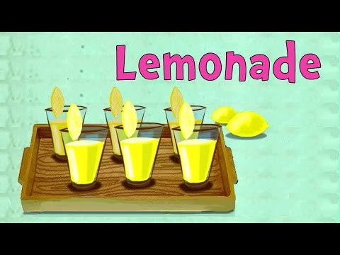 Fresh And Healthy Lemonade - Easy Recipes For Children To Learn