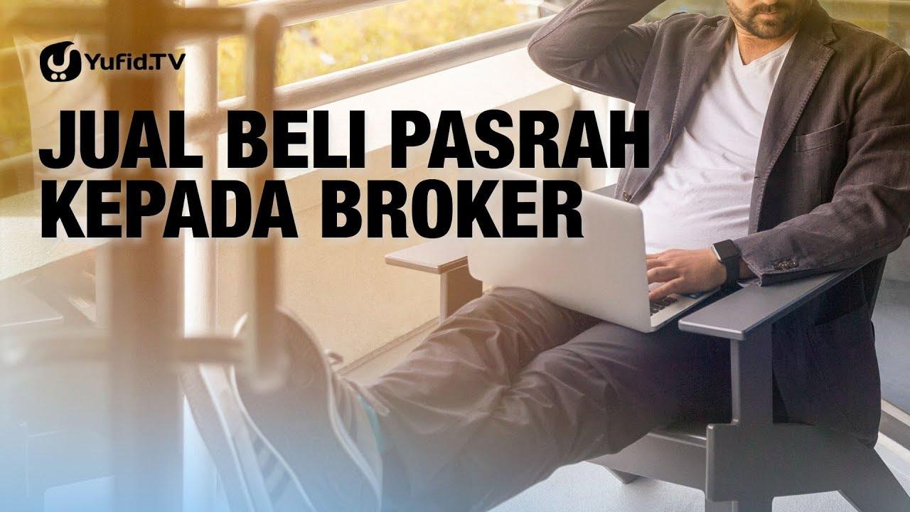 Jual Beli Pasrah Kepada Broker - Ustadz Ammi Nur Baits