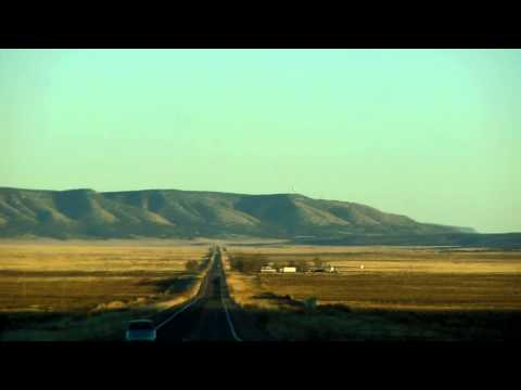 Driving down Route 66