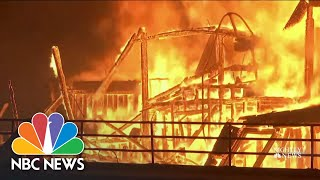 Wildfires Across The West Create Hazardous Air Conditions   NBC Nightly News