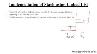 Implementation of Stack using Array in Data Structure (Hindi