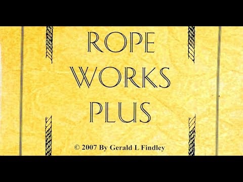 Rope works plus- book review