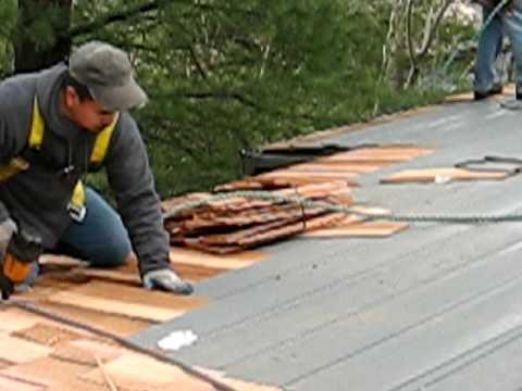 Portland Cedar Shake Roof Installation, Part 2 - Roof Life of Oregon