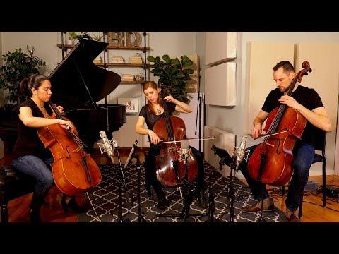 Bach Cello Suite No. 1: Sarabande (for Three Cellos)