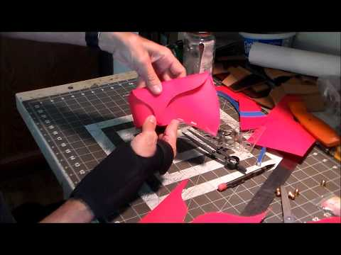 Part 1: Making a Leather Tomahawk Sheath Pattern