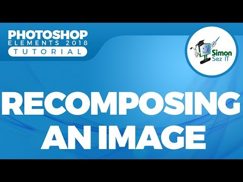 How to Recompose a Photo Using Photoshop Elements 2018