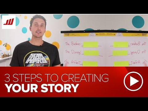 How to Craft Your Personal Story in 3 Steps