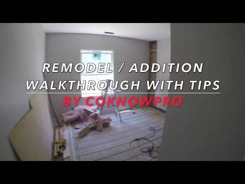 Remodel & Addition Walkthrough with Tips by CoKnowPro