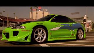 FAST and FURIOUS - Opening Scene (Eclipse) #1080HD +car-info