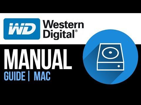 Western Digital external hard drive Set Up Guide for Mac 2019