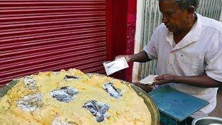 Indian Street Food - MILK CREAM Dessert India