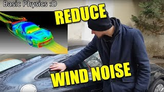 Reducing squeaks, rattles, and wind noise on Porsche 987/986