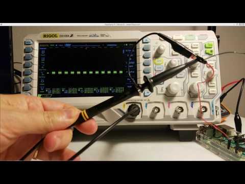 Rigol Oscilloscope Probe 1x 10x Attenuation Settings