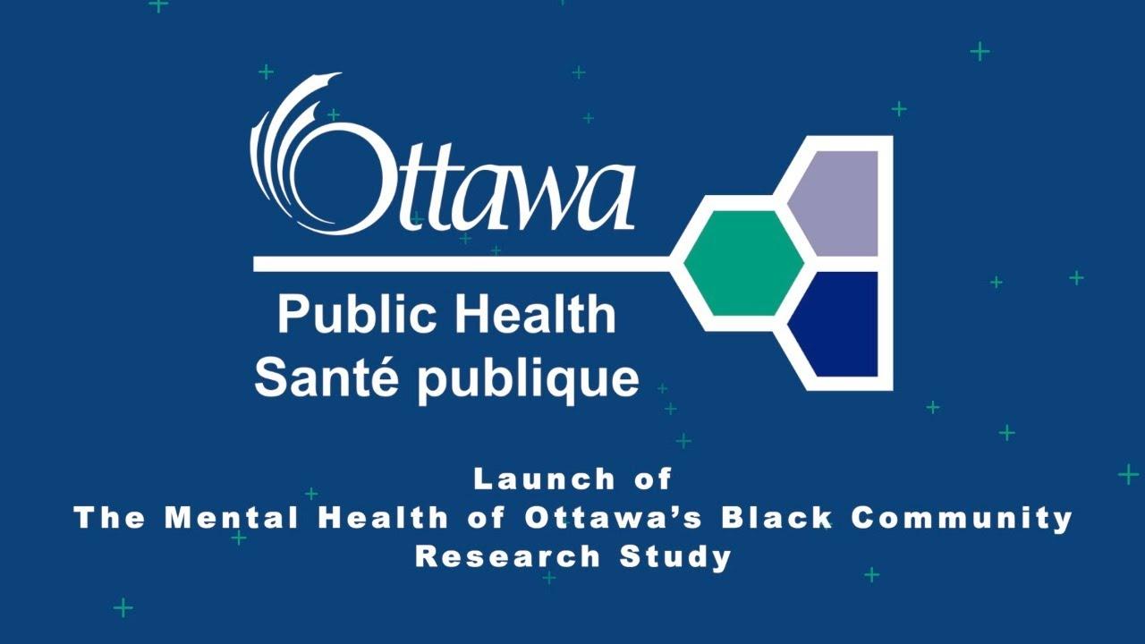Virtual panel on OPH's Mental Health of Ottawa's Black Community Research Study