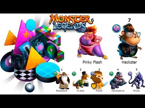 Новый остров  80s Island Monster Legends